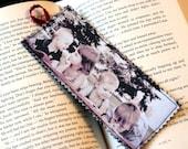 Perfect Mothers Day present or Birthday gift for men women dad mom boyfriend girlfriend book reader Fabric Bookmark