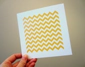 Sample Sale, Orange Chevron Wall Art Print, Pattern, Geometric, Home Decor, Nursery Pictures