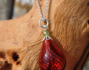 Handblown Glass Necklace