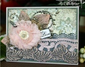 WIth Love Handmade Thinking of You or Friendship Card