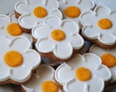 Simply Sweet Daisy Cookies 1 dozen