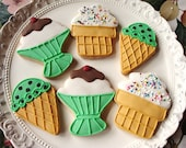 Ice Cream Party Cookies 1 dozen