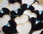 Bride and Groom Cookies 1 dozen