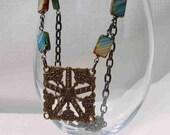 Picasso's Ocean Seastar Necklace