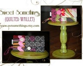 Sweet Somethings Quilted Wallet Pattern