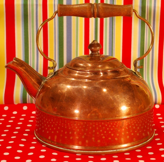 60 Percent Off Sale Copper Kettle Vintage By