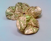 GOLDEN MAGIC - hot fashion hard to find gold button - vintage - size 2.8cm/1.2 inch