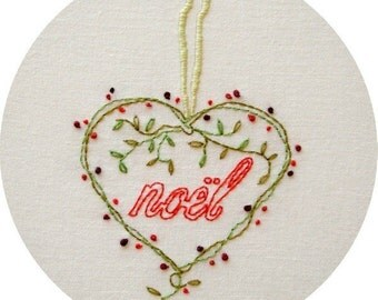 Forever Noel Embroidery Pattern PDF