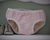 Puddle Proof Undies - Pink Lemonade, size medium