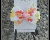 MTM Social Butterfly Bitty Hair Bow - Butterfly Pattern - MTMG