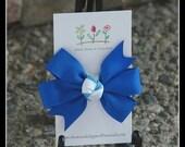 MTM Janie Jack Santorini Bitty Hair Bow - Snap Clip