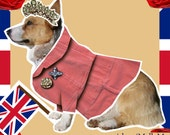 Diamond Jubilee Corgi magnetic paper doll set Canine Royalty