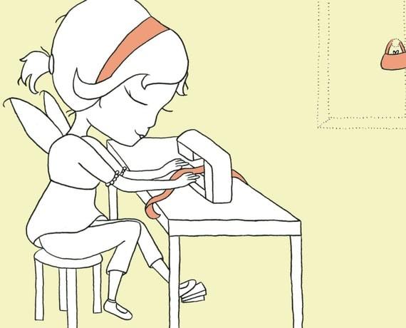 Daisy Pootsie- Fairy Illustration