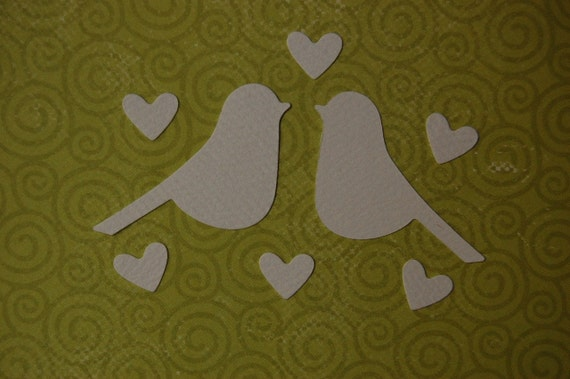 Hearts and Doves Die Cuts LAST SET