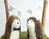 Woodland Wedding Cake Topper - Your Choice of Animals