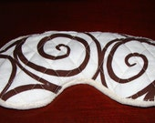 Soft Luscious Luxury Sleep Spa Eye Mask custom adult or child size