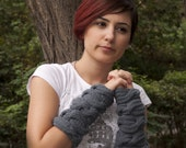 Hand knitting cable arm warmers  Holiday Christmas Gifts under 50 Black Friday Etsy