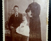 Vintage Photo ... young family