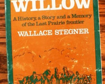 vintage book ... STENGER history WOLF WILLOW ...
