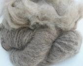Pure tawny brown  100% mink fiber. Gorgeous fiber, top quality. Czarina.