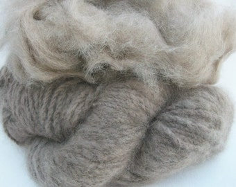 Pure tawny brown  100% mink fiber. Gorgeous fiber, top quality. Czarina.