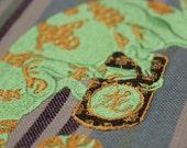 Ancient Chameleon Tea Towels (Set of 2)
