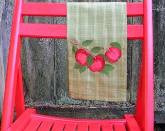 Ruby Red Apple Tea Towels (Set of 2)