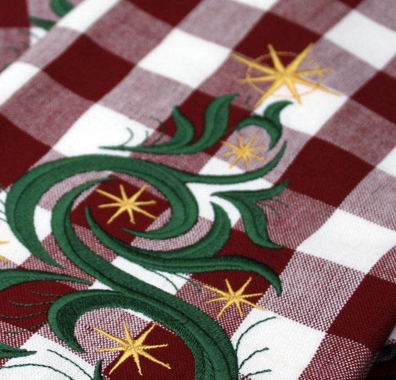 Christmas Tree Tea Towels (Set of 2)