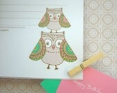 Owl Printable Stationary Set