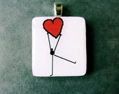 Dancing Heart pendant