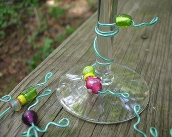 Whimsical Wine Glass Charms