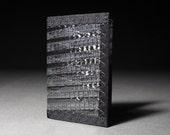 Built to Last Minimalist Mens Wallet - Carbon Fiber Black - Mini Wallet
