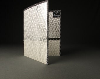 The Best School Folder - White and Black - Sailcloth