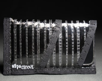 SALE - Carbon Fiber iPhone Sleeve Wallet - Black