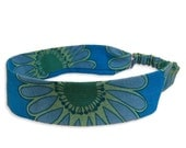 Fleurish Daisy Fabric  Headband with covered elastic - Small size only