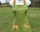 Dog Lover's Apron - for people - (APR015) by Happy Campers of the South