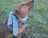 Posh hand-knit mini Scarf for 16 - 18 inch dolls, pets, stuffed animals - by Happy Campers of the South (SCRF026)