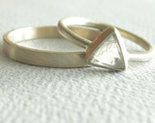 Diamond Macle Engagement Ring