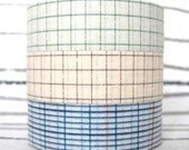 japanese masking tape - 18mm graph set of three - M