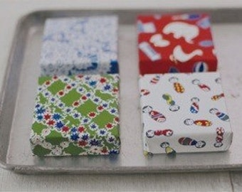 50% off sale item - japanese origami paper - kawaii set