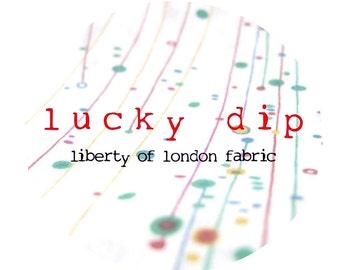 Stocktake SALE - liberty of london - lucky dip - fat quarter - select your colour.