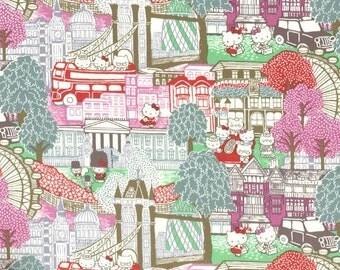 hello kitty x liberty tana lawn - season 2 - london - pink - fat 1/4