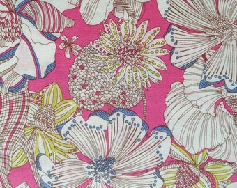 SALE Limited Liberty Art Collection - 2012 spring/summer - liberty of london tana lawn - gabrysia - pink - one metre