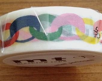 mt masking tape - paper chain -  designer  mt x mina perhonen - vivid