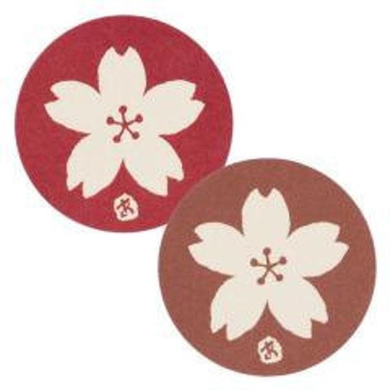 sakura stickers - set of 50