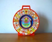 70s Vintage Mattel See'n Say The Bee Says Alphabet Toy