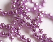 Purple 24inch Metal Ball Chain -  You Choose Size Regular or Skinny - 2.4mm OR 1.5mm - High Quality