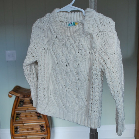 Vintage Classic Toddler Knit Sweater