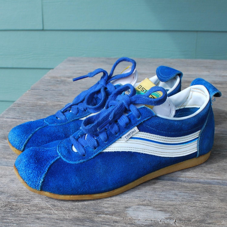 Vintage Osaga Cortina Retro Track Running Shoes