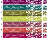Pre-Made Reusable Etsy Shop Banner and Complimentary Avatar